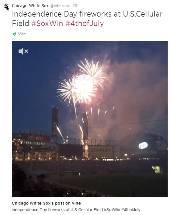 7.5 Fireworks